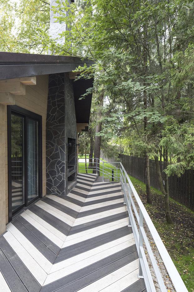 Фотография: Терраса в стиле , Дом, 4 и больше, Более 90 метров, Студия TS Design, #эксклюзивныепроекты – фото на INMYROOM