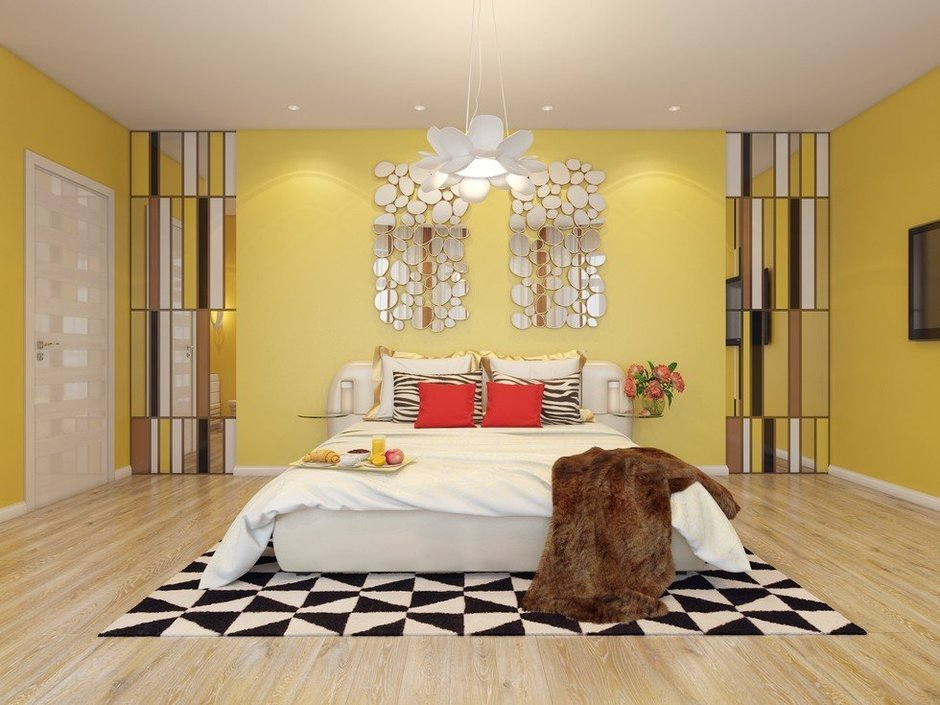 Фотография: Спальня в стиле Эклектика, Декор интерьера, Квартира, Natuzzi, Дома и квартиры, Проект недели, Moroso – фото на InMyRoom.ru