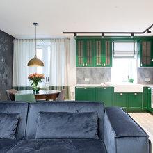 Фото из портфолио Зеленая кухня – фотографии дизайна интерьеров на INMYROOM