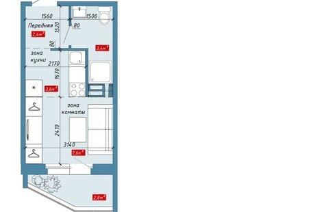 Помогите с дизайном такой студии 19 м кв
