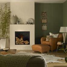 Фотография: Гостиная в стиле Скандинавский, Декор интерьера, Дизайн интерьера, Цвет в интерьере, Dulux – фото на InMyRoom.ru