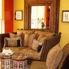 Фотография: Гостиная в стиле Современный, Декор интерьера, Дом, Декор дома, Цвет в интерьере – фото на InMyRoom.ru