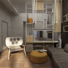 Фото из портфолио Квартира на Фрунзенской набережной в Москве – фотографии дизайна интерьеров на InMyRoom.ru