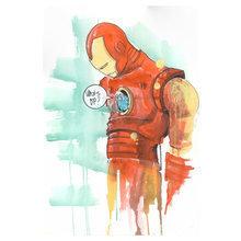 """Принт """"Iron Man"""" by Lora Zombie"""