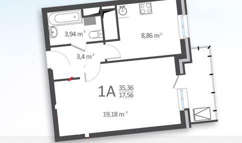 помогите определиться с зонированием комнаты