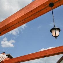Фотография: Мебель и свет в стиле Современный, Ландшафт, Стиль жизни, Дача, Дачный ответ – фото на InMyRoom.ru