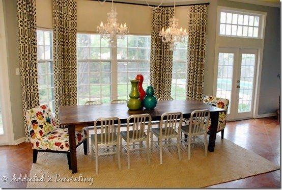 Фотография: Мебель и свет в стиле Современный, Кухня и столовая, Декор интерьера, Интерьер комнат, Переделка, Большие окна, Обеденная зона – фото на InMyRoom.ru