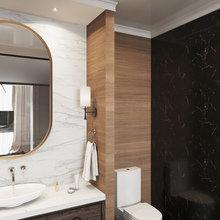 Фото из портфолио Фьюжн в квартире 177 кв.м. – фотографии дизайна интерьеров на INMYROOM