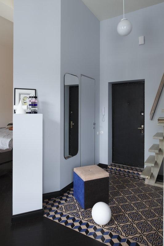 Фотография: Прихожая в стиле Современный, Малогабаритная квартира, Квартира, Студия, Дома и квартиры, Проект недели – фото на InMyRoom.ru