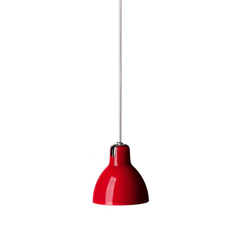 Купить Подвесной светильник Rotaliana Luxy с плафоном красного цвета, inmyroom, Италия