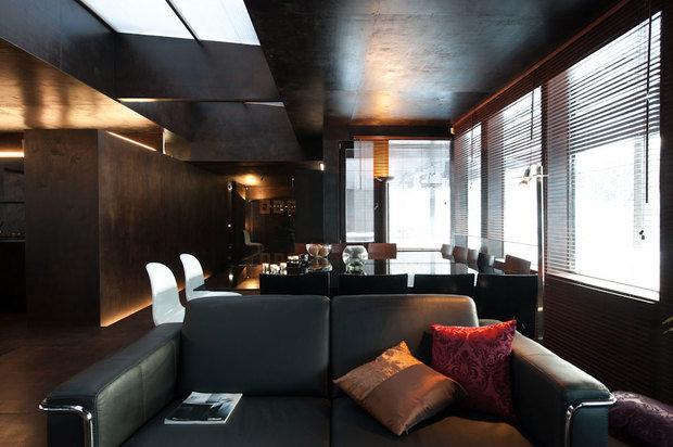 Фотография:  в стиле Лофт, Современный, Декор интерьера, Дизайн интерьера, Цвет в интерьере – фото на InMyRoom.ru