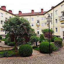 Фотография: Ландшафт в стиле , Скандинавский, Квартира, Швеция, Цвет в интерьере, Дома и квартиры, Белый, Черный – фото на InMyRoom.ru