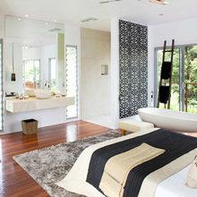 Фотография: Спальня в стиле Скандинавский, Декор интерьера, Декор дома, Цвет в интерьере – фото на InMyRoom.ru