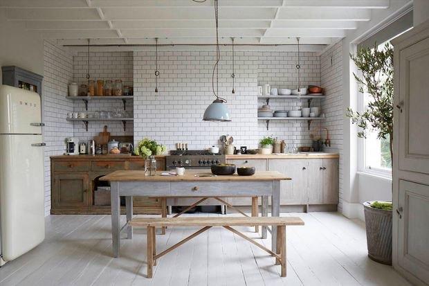 Фотография: Кухня и столовая в стиле Скандинавский, Советы, Белый, за и против – фото на InMyRoom.ru