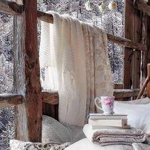 Фотография: Балкон, Терраса в стиле Скандинавский, Интерьер комнат – фото на InMyRoom.ru