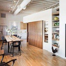 Фотография: Кухня и столовая в стиле Лофт, Эко, Квартира, Дома и квартиры – фото на InMyRoom.ru