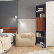 Фото из портфолио Комната сына. Трехкомнатная квартира – фотографии дизайна интерьеров на INMYROOM