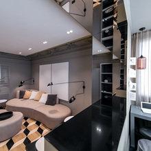 Фотография: Гостиная в стиле Классический, Современный, Интерьер комнат – фото на InMyRoom.ru