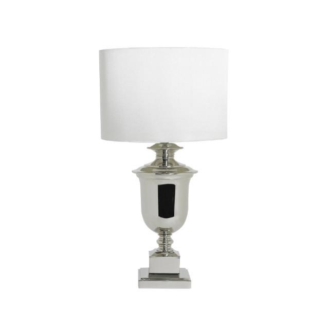 Купить Настольная лампа Adriano с белым абажуром, inmyroom, Великобритания