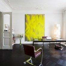 Фотография: Офис в стиле Классический, Современный, Эклектика, Декор интерьера, Дизайн интерьера, Цвет в интерьере, Желтый, Розовый, Оранжевый, Неон – фото на InMyRoom.ru