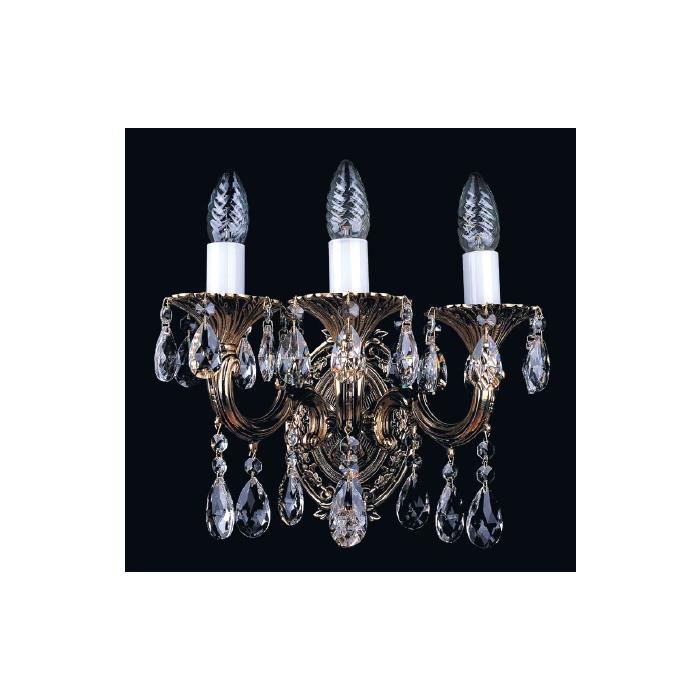 Бра Bohemia Ivele в виде свечей с подсвечниками