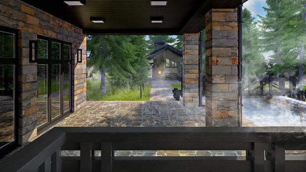Фото из портфолио Дом на Новорижском шоссе – фотографии дизайна интерьеров на INMYROOM