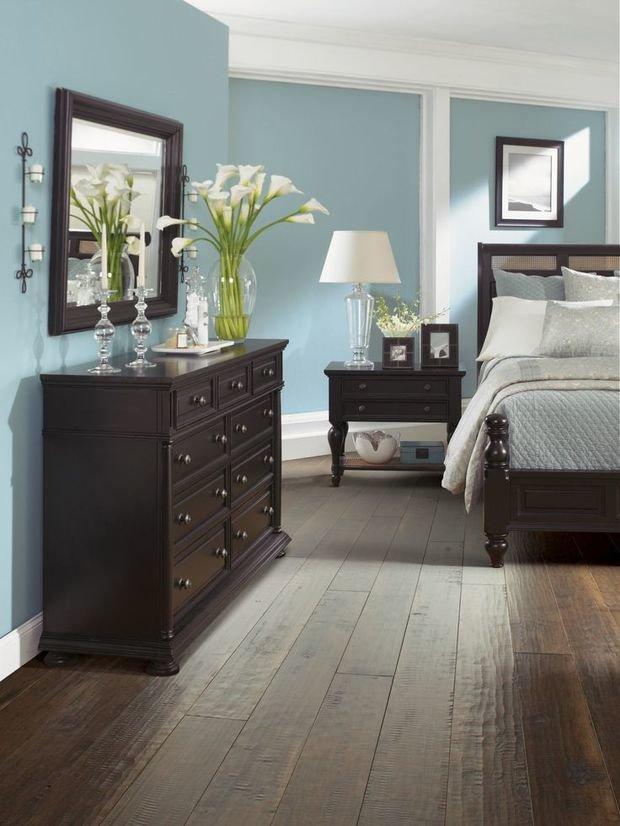 Фотография: Спальня в стиле Прованс и Кантри, Декор интерьера, Дизайн интерьера, Цвет в интерьере – фото на InMyRoom.ru