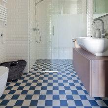 Фотография: Ванная в стиле Лофт, Квартира, BoConcept, Дома и квартиры, IKEA – фото на InMyRoom.ru