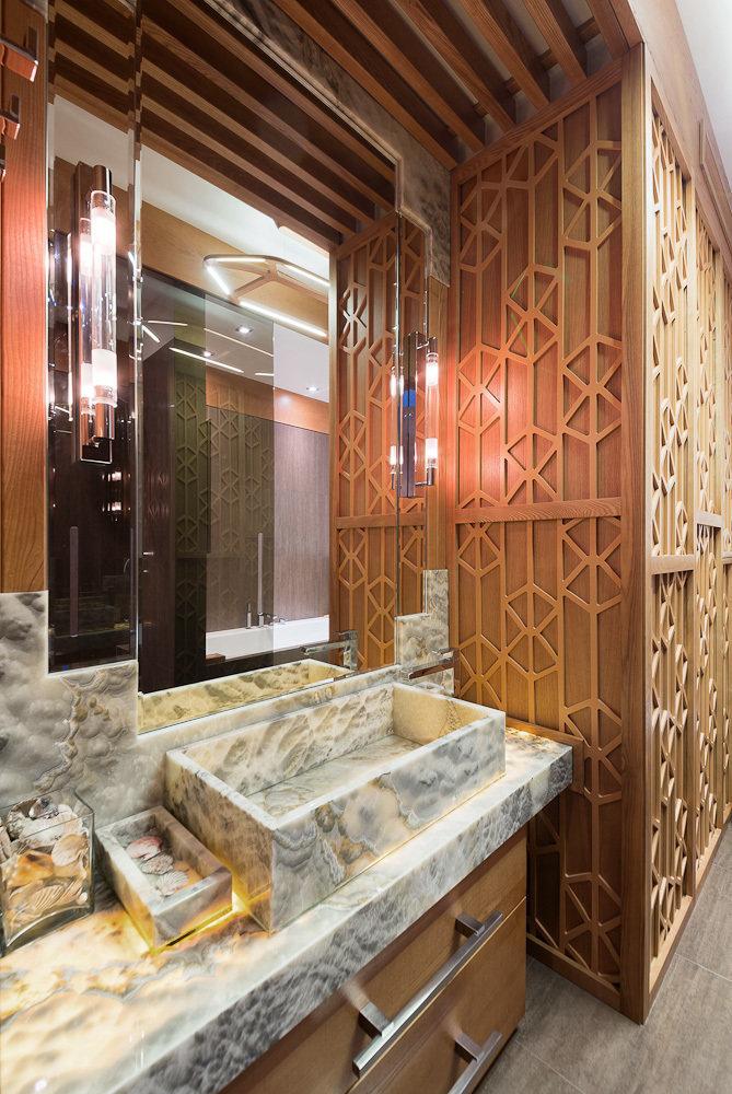 Фотография: Ванная в стиле Лофт, Квартира, Дома и квартиры, Проект недели, Москва – фото на InMyRoom.ru