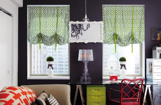 Фотография: Декор в стиле Эклектика, Декор интерьера, Текстиль, Шторы – фото на InMyRoom.ru