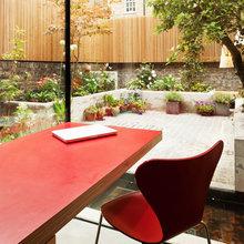 Фотография: Балкон, Терраса в стиле , Кухня и столовая, Интерьер комнат – фото на InMyRoom.ru