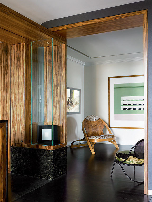 Фотография:  в стиле Современный, Декор интерьера, Квартира, Дома и квартиры, Минимализм, Стены – фото на InMyRoom.ru