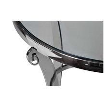 Стол журнальный с прозрачным стеклом