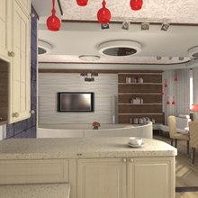 Фото из портфолио Дом- яхта)наброски гостиной – фотографии дизайна интерьеров на INMYROOM