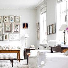 Фотография: Гостиная в стиле Скандинавский, Декор интерьера, Дизайн интерьера, Цвет в интерьере, Белый, Dulux, ColourFutures, Краски – фото на InMyRoom.ru
