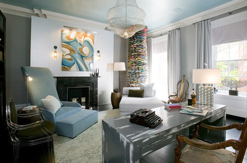 Фотография: Кабинет в стиле Эклектика, Декор интерьера, Квартира, Дом, Декор дома – фото на INMYROOM