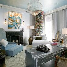 Фотография: Кабинет в стиле Эклектика, Декор интерьера, Квартира, Дом, Декор дома – фото на InMyRoom.ru