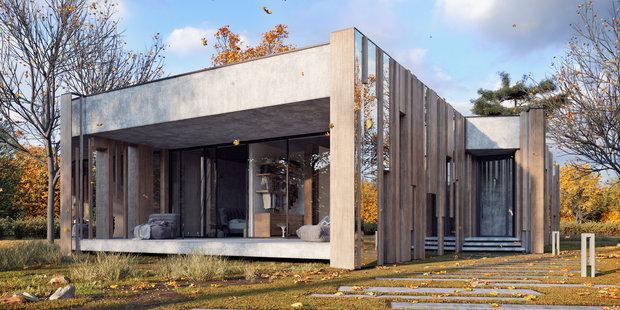 Фото из портфолио REFLECTIVE HOUSE – фотографии дизайна интерьеров на INMYROOM
