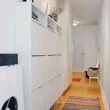 Фотография: Прихожая в стиле Скандинавский, Декор интерьера, Малогабаритная квартира, Квартира, Дом – фото на InMyRoom.ru