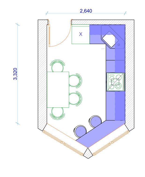 Фотография: Прочее в стиле , Кухня и столовая, Квартира, Дома и квартиры, П44т – фото на InMyRoom.ru