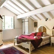 Фотография: Спальня в стиле Кантри, Современный, Цвет в интерьере – фото на InMyRoom.ru