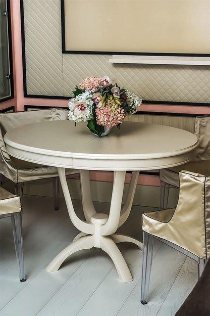 Фотография: Кухня и столовая в стиле Прованс и Кантри, Кабинет, Интерьер комнат – фото на InMyRoom.ru