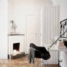 Фотография: Кабинет в стиле Скандинавский, DIY, Квартира, Советы, как облегчить быт – фото на InMyRoom.ru