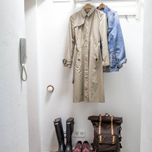 Фотография: Прихожая в стиле Скандинавский, Квартира, Проект недели, двухкомнатная квартира, Герой InMyRoom, Казахстан, Хрущевка – фото на InMyRoom.ru