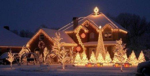 Фотография: Ландшафт в стиле , Декор интерьера, Праздник, Новый Год – фото на InMyRoom.ru