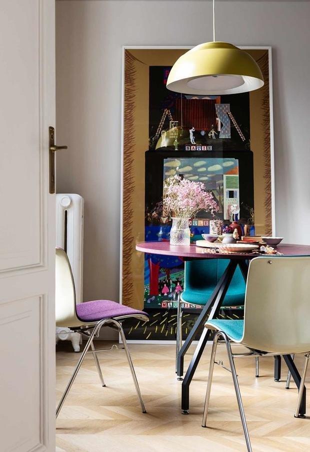 Фотография: Кухня и столовая в стиле Эклектика, Современный, Восточный, Декор интерьера, Квартира, 2 комнаты – фото на INMYROOM
