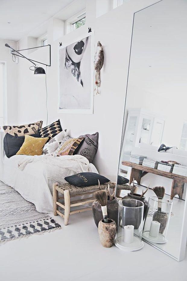 Фотография: Декор в стиле Скандинавский, Декор интерьера, Малогабаритная квартира, Декор дома – фото на InMyRoom.ru
