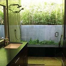 Фотография: Ванная в стиле Лофт, Дома и квартиры, Интерьеры звезд – фото на InMyRoom.ru