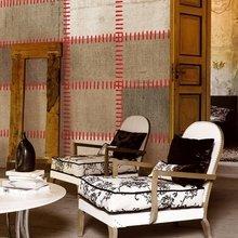 Фотография: Мебель и свет в стиле Кантри, Декор интерьера, Декор дома, Обои, Стены – фото на InMyRoom.ru