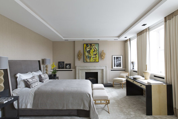 Фотография: Спальня в стиле Классический, Современный, Гид, Жан-Луи Денио – фото на InMyRoom.ru